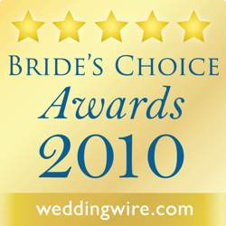 WeddingWire Couples' Choice Awards 2010 Winner