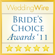 WeddingWire Couples' Choice Awards 2011 Winner