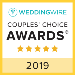 Laura Clare WeddingWire Couples Choice Award Winner 2019