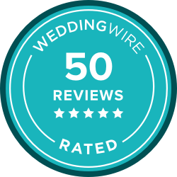 Reviewed on WeddingWire