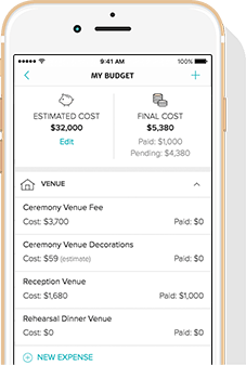 wedding budget planner spreadsheet and calculator weddingwire