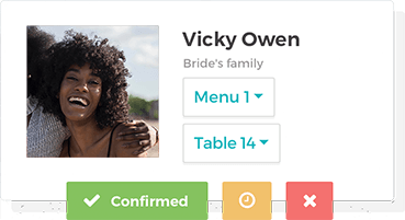 wedding guest list free guest list manager tool weddingwire