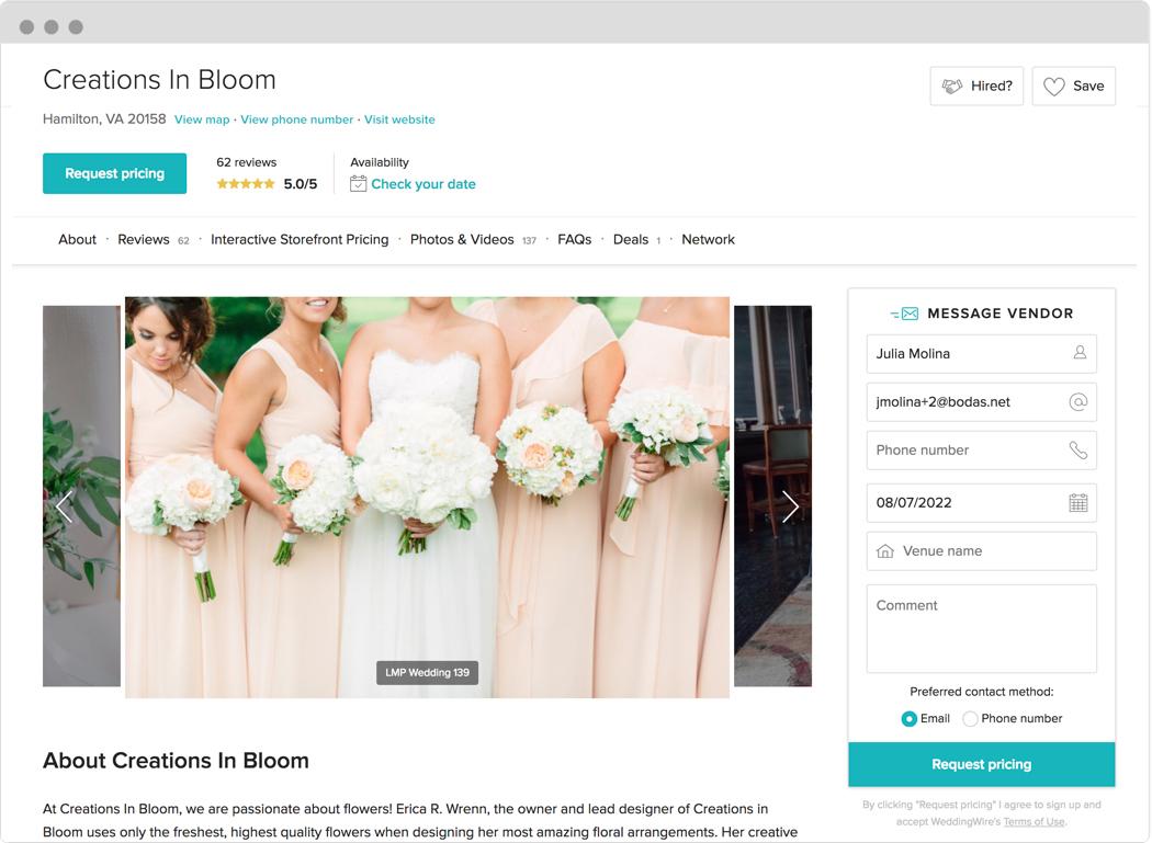 Wedding Vendors - Find the Perfect Wedding Vendors ...
