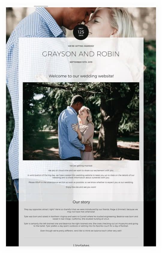 Wedding Rsvp Website.Wedding Websites Free Wedding Websites Weddingwire