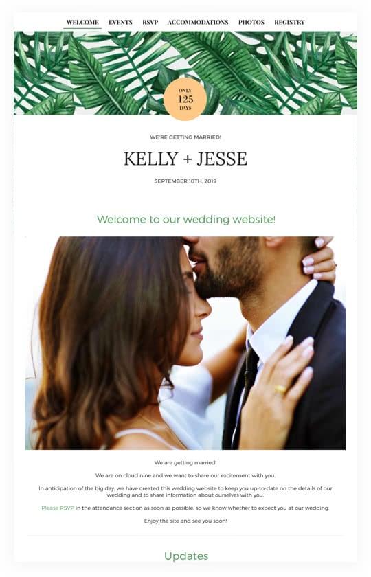Wedding Websites, Free Wedding Websites | WeddingWire