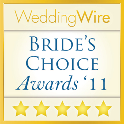 Jesse Lane Photography, WeddingWire Couples' Choice Award Winner 2011