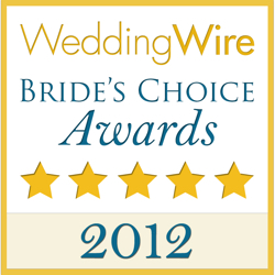 Sweet Creations Cakes, WeddingWire Couples' Choice Award Winner 2012