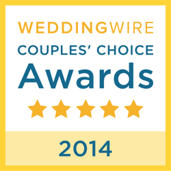Reverend Charles Hall, WeddingWire Couples' Choice Award Winner 2014