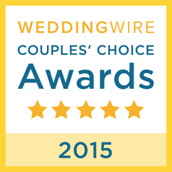 Be Wed By Fred, WeddingWire Couples' Choice Award Winner 2015