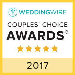 Bold, Beautiful and Beyond Weddings, LLC., WeddingWire Couples' Choice Award Winner 2017