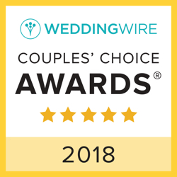 Block Weddings & Events, WeddingWire Couples' Choice Award Winner 2018