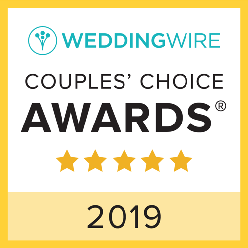 2019 Wedding Wire Couples Choice Award Winner