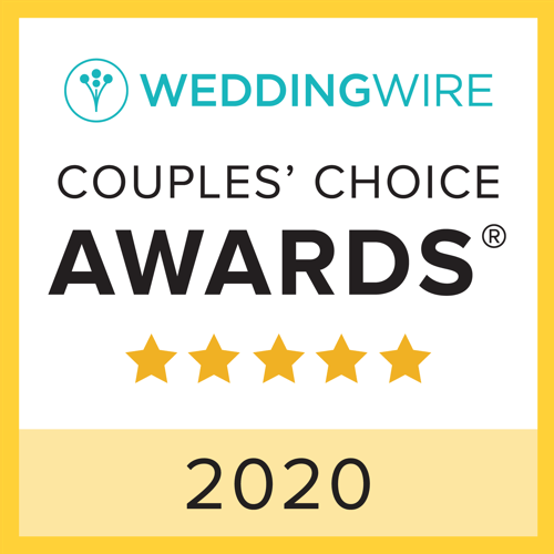 Staccato is a WeddingWire Couple's Choice award winner for 2020