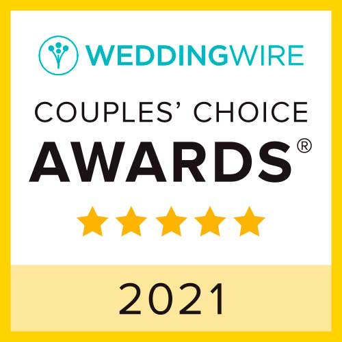 Allegro Wedding and Events Center, WeddingWire Couples' Choice Award Winner 2021